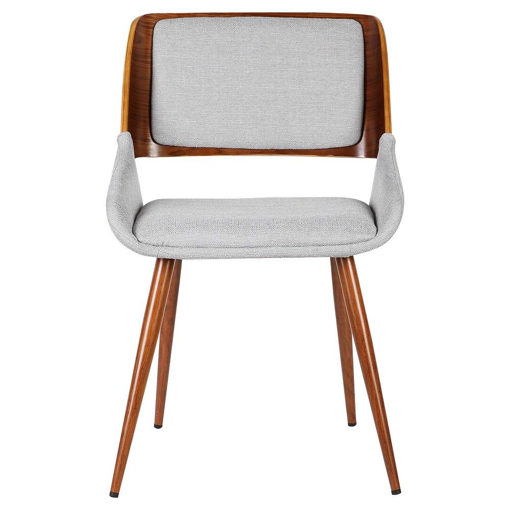 Panda Mid - Century Dining Chair - Gray - Armen Living