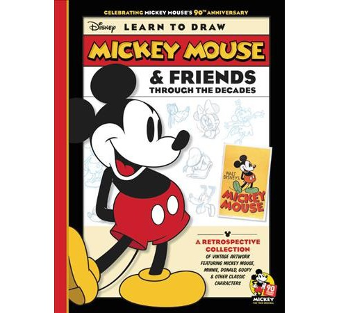 Disney Learn To Draw Mickey Mouse Friends Through The Decades 90