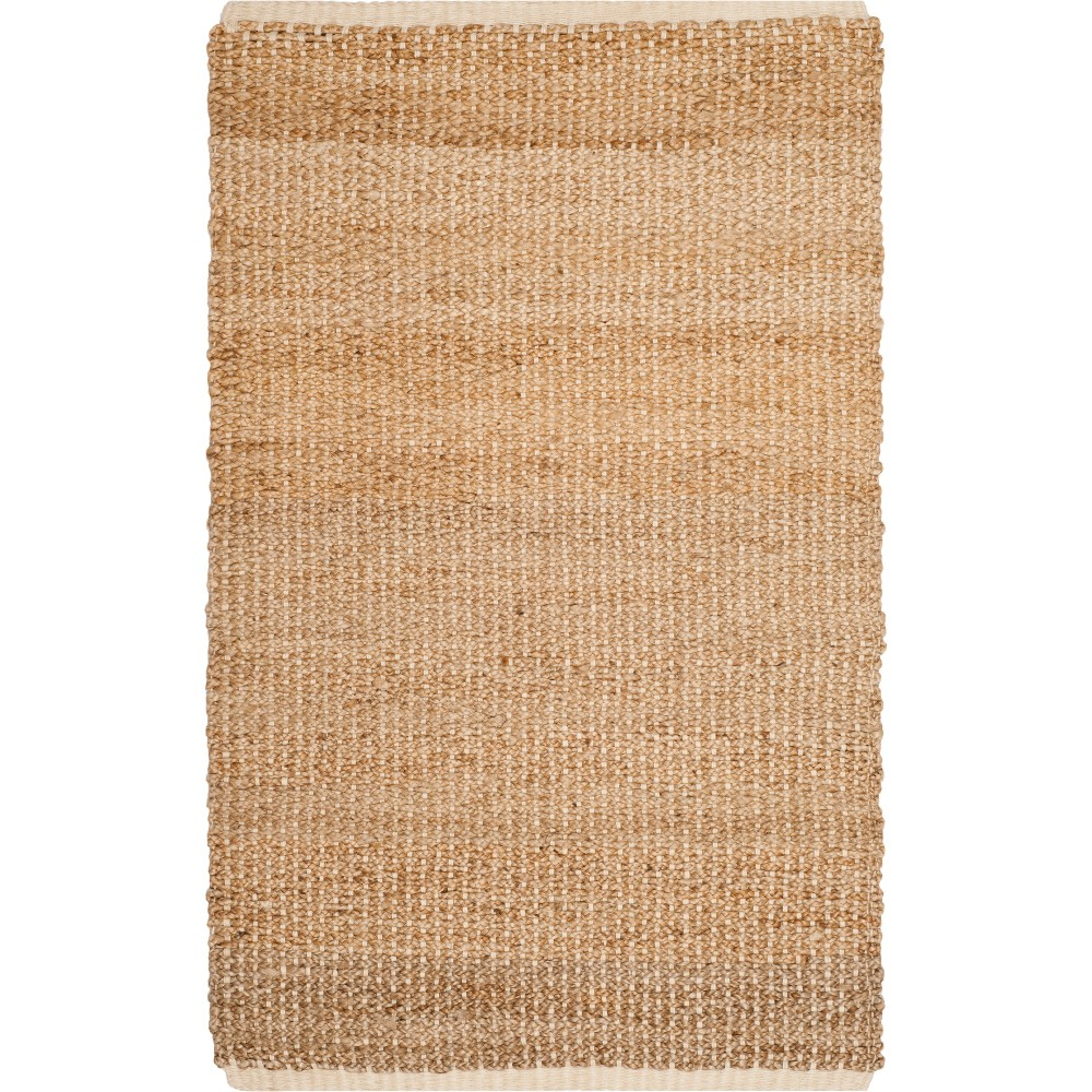 3X5 Solid Woven Accent Rug Ivory/Natural - Safavieh Discounts