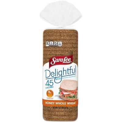 Sara Lee Delghtful 100% Whole Wheat with Honey Bread - 20oz
