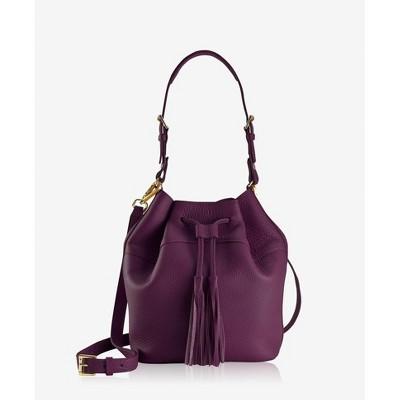 GiGi New York Purple Jenn Bucket Bag Bag