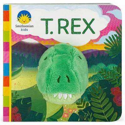 T.Rex - (Finger Puppet Board Book Smithsonian Kids)by Jaye Garnett (Board_book)