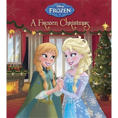 A Frozen Christmas ( Disney Frozen) - by Andrea Posner-Sanchez (Board Book)