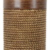 "15"" Cali Rope Wrapped Accent Table Lamp Brown - Decor Therapy - image 3 of 4"