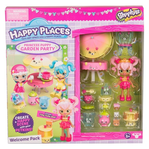 Happy Places™ Shopkins® Welcome Pack - Royal Garden Party - image 1 of 5