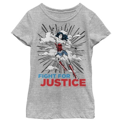 Girl's Wonder Woman 1984 Justice Fighter T-Shirt