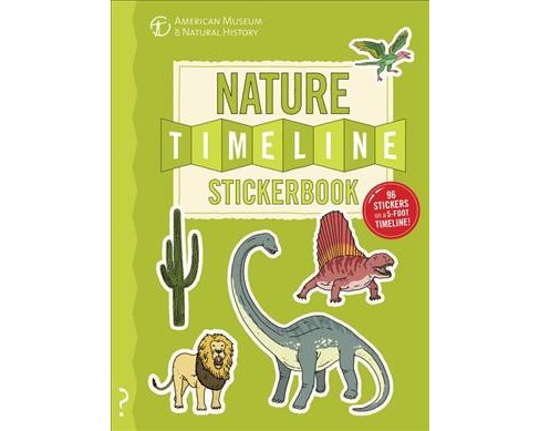 Nature Timeline Stickerbook (Paperback) (Christopher Lloyd) - image 1 of 1