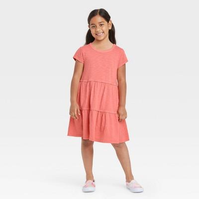 Girls' Tiered Knit Dress - Cat & Jack™