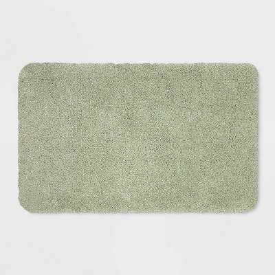 37 x23  Performance Nylon Bath Rug Light Sage Green - Threshold™