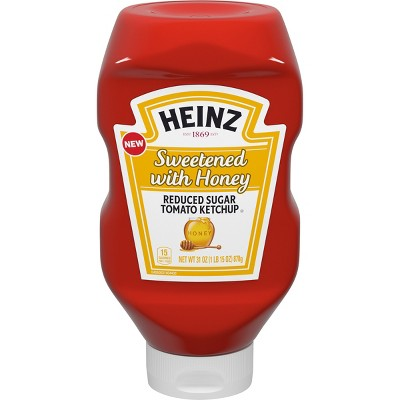 Ketchup: Heinz Sweetened with Honey