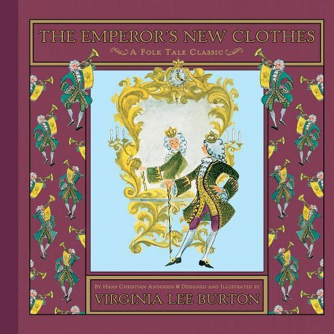 The Emperor's New Clothes - (Folk Tale Classics) by  Hans Christian Andersen (Hardcover) - image 1 of 1