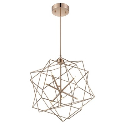 Ceiling Lights LED Stacia Pendant - French Gold Finished - Lite Source