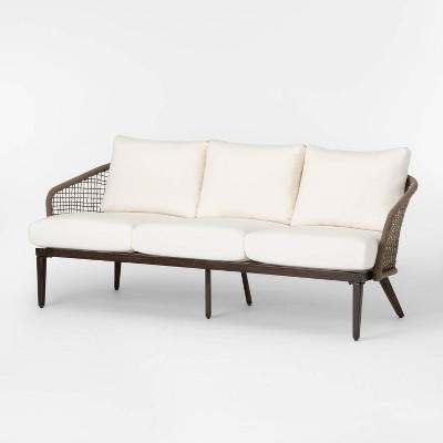 Risley Oversized Rope Patio Sofa Set - Linen - Project 62™