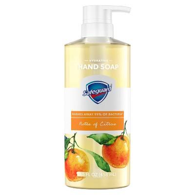 Safeguard Liquid Hand Soap with Notes of Citrus - 15.5 fl oz