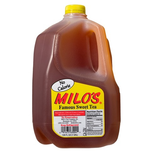 Milo's No Calorie Famous Sweet Tea 1 gal - image 1 of 1