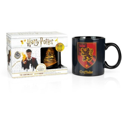 Seven20 Harry Potter Gryffindor 20oz Heat Reveal Ceramic Coffee Mug | Color Changing Cup