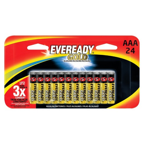 Eveready Gold AAA Batteries 24 ct - image 1 of 1