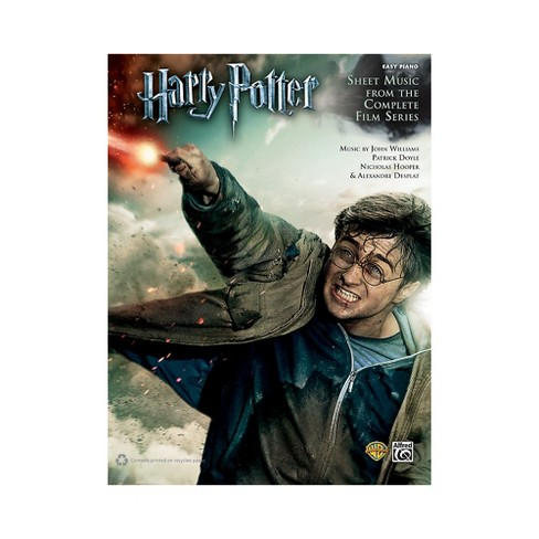 Alfred Harry Potter Sheet Music From The Complete Film Series Easy Piano Book - image 1 of 1