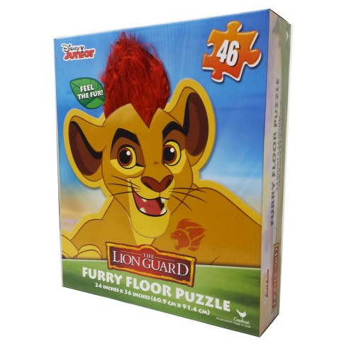 Lion Guard Floor Puzzle with Hair 46pc - image 1 of 1
