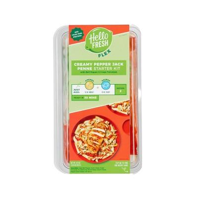 HelloFresh Flex Creamy Pepper Jack Penne Meal Starter Kit - 21.5oz