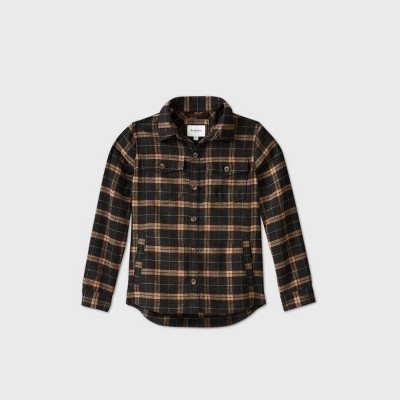 Men's Big & Tall Plaid Shirt Jacket - Goodfellow & Co™ 5XB