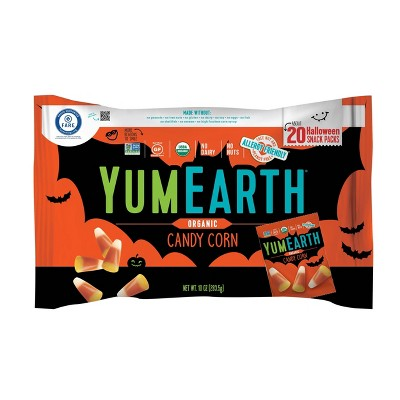 Yum Earth Halloween Organic Candy Corn - 10oz/20ct