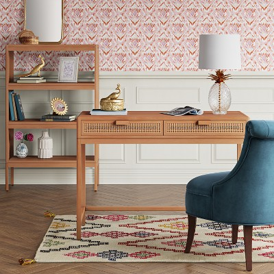 "48"" Minsmere Caned Bookshelf Natural Brown - Opalhouse™ : Target"