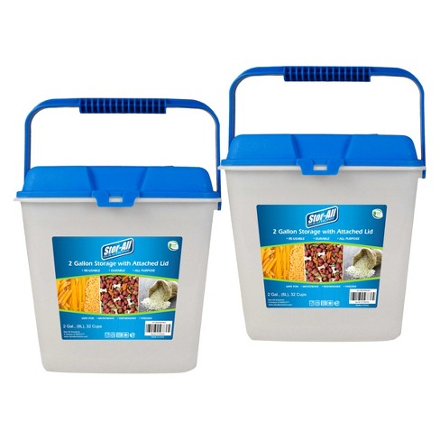 Stor-All Solutions 2 Gallon Food Storage Container - image 1 of 2