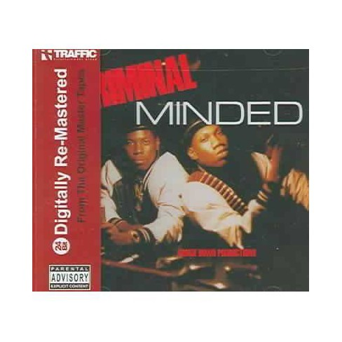 Boogie Down Productions; Leddy - Criminal Minded (CD) - image 1 of 1