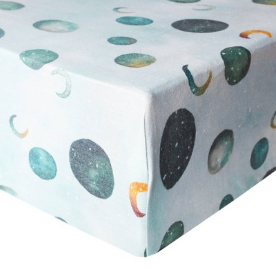 Copper Pearl Premium Crib Sheet - Lunar
