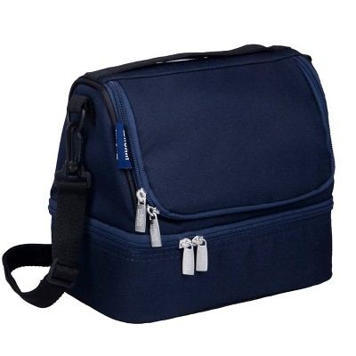 Wildkin Whale Blue  Dual Compartment Lunch Bag
