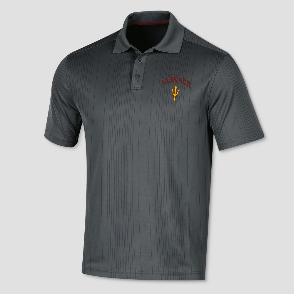 Arizona State Sun Devils Men's Short Sleeve Game Day Polo Shirt XL, Multicolored