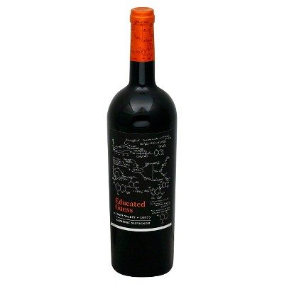 Educated Guess Cabernet Sauvignon Red Wine - 750ml Bottle