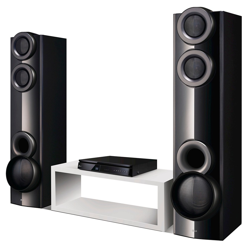 LG LHB675 1000w Home Theater In Box With 3D Blu-Ray Player - Black