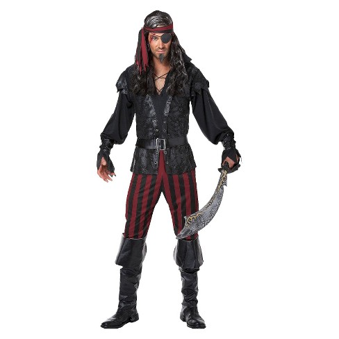 Men's Ruthless Rogue Pirate Costume - image 1 of 1