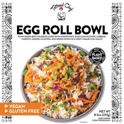 Tattooed Chef Frozen Egg Roll Bowl - 8.5oz
