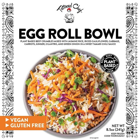 Tattooed Chef Vegan Frozen Egg Roll Bowl - 8.5oz - image 1 of 4