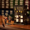 Department 56 - Harry Potter Village - Ollivander's Wand Shop Lighted Building, 7.88-inches - image 3 of 3