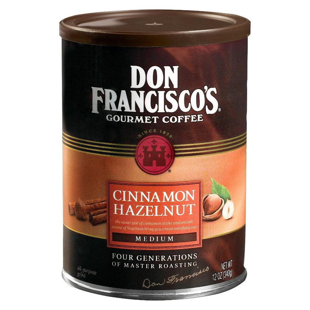 Don Francisco's Cinnamon Hazelnut Medium Roast Ground Coffee - 12oz