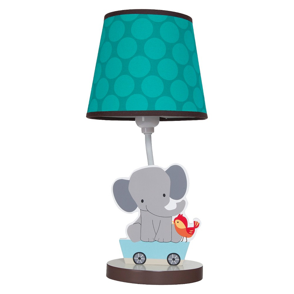 Image of Bedtime Originals Choo Choo Lamp w/Shade & Bulb