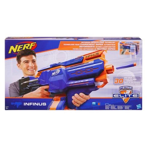 nerf elite infinus blaster target