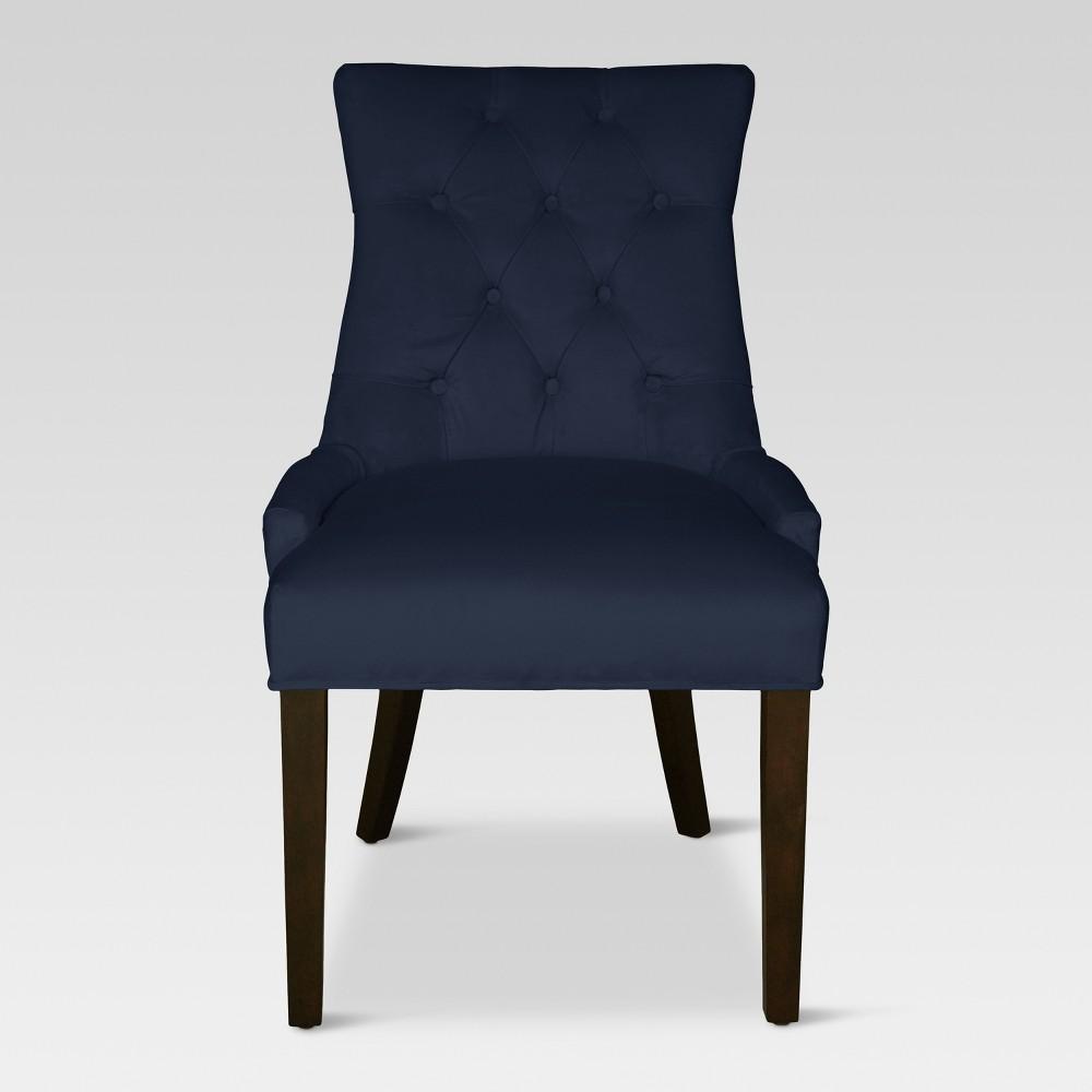 Dining Chairs Navy - Threshold, Navy Velvet
