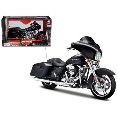 2015 Harley Davidson Street Glide Special Black 1/12 Diecast Motorcycle Model by Maisto
