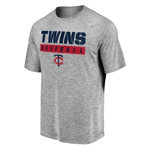 MLB Minnesota Twins Men's Flying Leap Athleisure T-Shirt - image 1 of 3