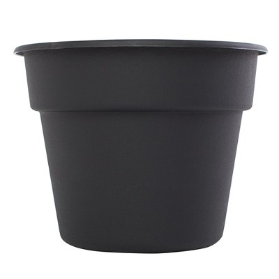 6  Dura Cotta Planter - Black - Bloem®
