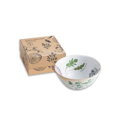 20oz Porcelain Farm To Table Lettuce Salad Bowl - Rosanna