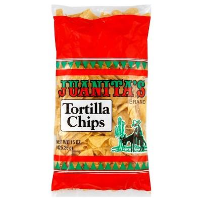 Juanita's Tortilla Chips - 15oz
