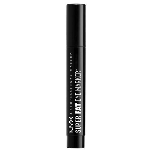 NYX Professional Makeup Super Fat Eye Marker Carbon Black - 0.10oz - image 1 of 4