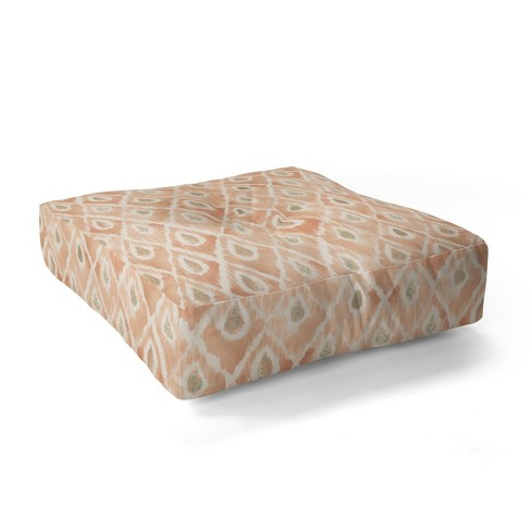 "23""x23"" Dash And Ash Catch Me Floor Pillow Yellow - Deny Designs - image 1 of 2"