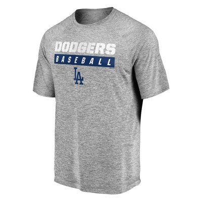 MLB Los Angeles Dodgers Men's Flying Leap Athleisure T-Shirt
